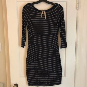 BAILEY 44 Striped Fitted Dress